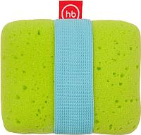 Мочалка Happy Baby Sponge+ 35004 (зеленый) -