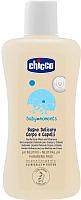 Шампунь Chicco Baby Moments детский без слез с овсом (200мл) -
