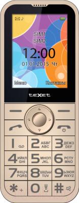 Мобильный телефон TeXet TM-B330 (бежевый)