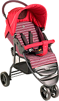 Детская прогулочная коляска Happy Baby Ultima (темно-бордовый) -