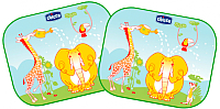 Защитные шторки Chicco Safe на присосках с рисунком -