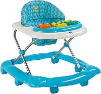 Ходунки Happy Baby Pioneer (голубой) -