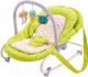 Детский шезлонг Happy Baby Nesty (зеленый) -