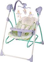 Качели для новорожденных Happy Baby Luffy (лиловый) -