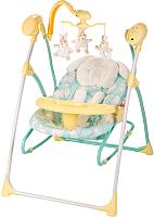 Качели для новорожденных Happy Baby Luffy (желтый) -