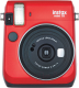 Фотоаппарат с мгновенной печатью Fujifilm Instax Mini 70 (красный) -