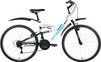 Велосипед Forward Altair MTB FS 26 2016 (16, белый/черный) -