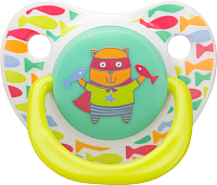 Пустышка Happy Baby Baby Soother 13008 (кот) -