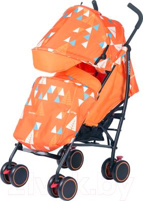 Детская прогулочная коляска Babyhit Wonder (оранжевый)