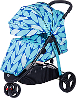 Детская прогулочная коляска Babyhit Trinity (синий) -