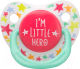 Пустышка Happy Baby Baby Soother 13008 (I'm a little hero) -