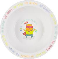 Тарелка для кормления Happy Baby Feebing Bowl 15016 (кот) -