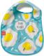 Нагрудник детский Happy Baby Waterproof Baby Bib 16009 (голубой) -