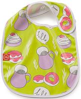 Нагрудник детский Happy Baby Waterproof Baby Bib 16009 (лайм) -