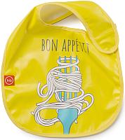 Нагрудник детский Happy Baby Waterproof Baby Bib 16009 (желтый) -