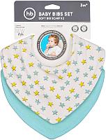 Нагрудник детский Happy Baby Baby Bibs Set 16010 (star) -