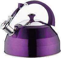 Чайник со свистком Peterhof PH-15528 (фиолетовый) -