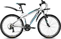 Велосипед Forward Quadro 1.0 2016 (17, белый) -