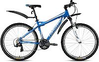 Велосипед Forward Quadro 1.0 2016 (17, синий) -