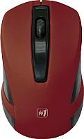 Мышь Defender #1 MM-605 / 52605 (красный) -
