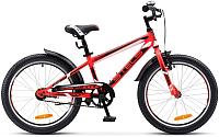 Детский велосипед Stels Pilot 200 Gent V020 20 2017 (11, неоновый-красный) -