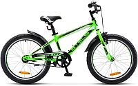 Детский велосипед Stels Pilot 200 Gent V020 20 2017 (11, неоновый-зеленый) -