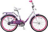 Детский велосипед Stels Pilot 200 Lady V020 20 2017 (12, светло-фиолетовый) -