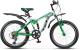 Велосипед Stels Pilot 250 V020 20 2017 (13, белый/зеленый) -