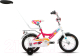 Детский велосипед с ручкой Forward Altair City Girl 2017 (12, белый/фуксия) -