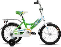 Детский велосипед Forward Altair City Boy 2017 / RBKT75NF1003 (14, белый/зеленый) -