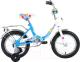 Детский велосипед Forward Altair City Girl 2017 / RBKT74NF1003 (14, белый/синий) -
