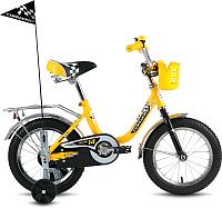 Детский велосипед Forward Racing Boy 2016 (14, желтый) -