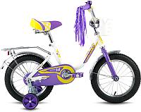 Детский велосипед Forward Racing Girl 2016 (14, белый) -
