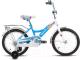 Детский велосипед Forward Altair City Girl 2017 / RBKT74NG1003 (16, белый/синий) -