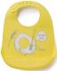 Нагрудник детский Happy Baby Bib Pocket 16006 (желтый) -