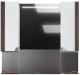 Шкаф с зеркалом для ванной Belux Анталия В100Ш (65) -