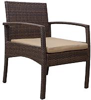 Кресло садовое Седия Ibiza (сталь/коричневый) -