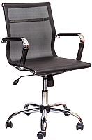Кресло офисное Седия Adel Chrome (черный) -