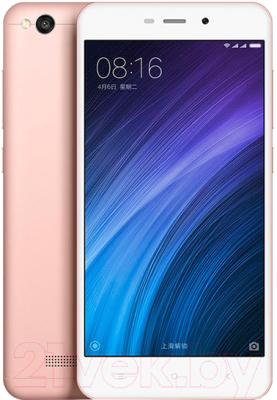 Смартфон Xiaomi Redmi 4A 16Gb (розовое золото)