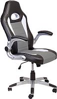 Кресло офисное Седия Neptun Eco (черный/белый/серый) -