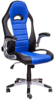 Кресло офисное Седия Neptun Eco (черный/белый/синий) -