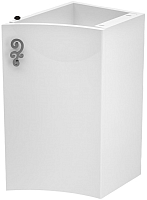 Шкаф-полупенал для ванной Belux Версаль НП30 (белый, правый) -