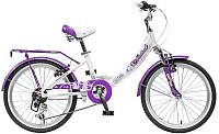 Детский велосипед Novatrack Girlish Line 20AH6V.GIRLISH.WT5 -
