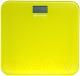 Напольные весы электронные Kitfort KT-804-4 (желтый) -