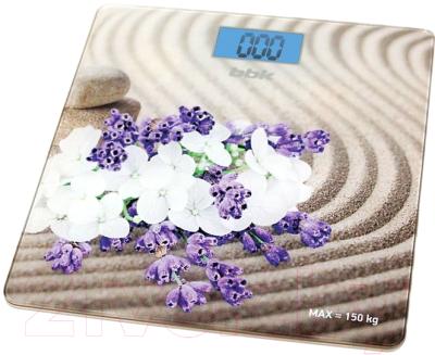 Напольные весы электронные BBK BCS3002G (бежевый)