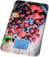 Кухонные весы BBK KS107G (ягоды на доске) -