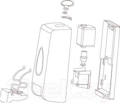 Дозатор жидкого мыла BXG FD-1058