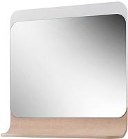 Зеркало для ванной Belux Итака В85 (белый/молочный дуб) -