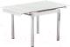 Обеденный стол Седия Karlota 16 (хром/белый) -