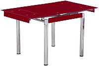 Обеденный стол Седия Karlota 16 (хром/красный) -